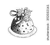vector dessert with decoration...   Shutterstock .eps vector #352032161