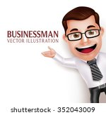 3d realistic professional... | Shutterstock .eps vector #352043009
