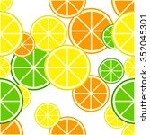 lemon vector   eps10 | Shutterstock .eps vector #352045301