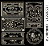 labels vector set | Shutterstock .eps vector #352057784