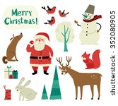 Christmas Vector Set With With...