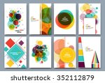 abstract composition  business... | Shutterstock .eps vector #352112879
