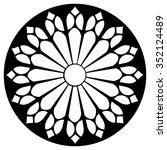 Gothic Rosette Window Pattern ...