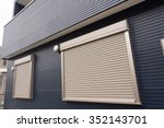 fire shutter of housing | Shutterstock . vector #352143701
