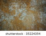 rusty metal surface   abstract... | Shutterstock . vector #35224354