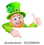 Leprechaun Cartoon St Patricks...