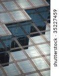 close up of modern building  ... | Shutterstock . vector #35227459