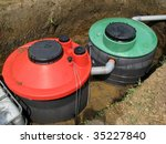 septic system instalation in...