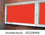 board announced | Shutterstock . vector #35228446
