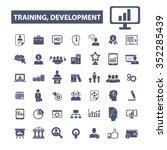 business training  development... | Shutterstock .eps vector #352285439
