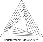 lines design . vector abstract... | Shutterstock .eps vector #352320974
