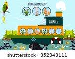 cartoon vector illustration of... | Shutterstock .eps vector #352343111