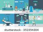 info graphic of medical... | Shutterstock .eps vector #352354304