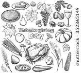 hand drawn illustration  ... | Shutterstock . vector #352365149