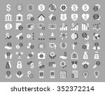 financial business vector icon... | Shutterstock .eps vector #352372214