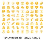 financial business vector icon... | Shutterstock .eps vector #352372571