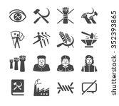 Постер, плакат: Communism icons