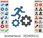 treatment process vector icon....   Shutterstock .eps vector #352403111