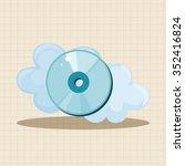 cd rom theme elements | Shutterstock .eps vector #352416824
