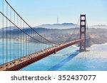 Famous Golden Gate Bridge In...