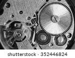 gears old mechanical watches.... | Shutterstock . vector #352446824