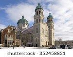 basilica of st. adalbert  ...   Shutterstock . vector #352458821