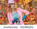 fashion urban beauty people ... | Shutterstock . vector #352484201