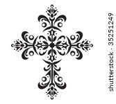 562 christian clipart cross | Public domain vectors