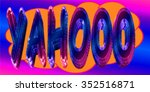 cartoon yahooo illustration in... | Shutterstock . vector #352516871
