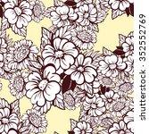 abstract elegance seamless... | Shutterstock . vector #352552769