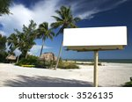 Tropical Beach Setting With A...