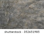 polished bare concrete wall... | Shutterstock . vector #352651985