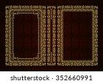 vector classical book cover....   Shutterstock .eps vector #352660991
