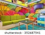 kids playroom interior | Shutterstock . vector #352687541