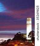 "the night scene of ""coit tower"". | Shutterstock . vector #35269825"