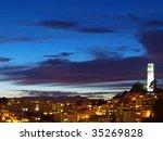 "the night scene of ""coit tower"". | Shutterstock . vector #35269828"