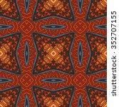 abstract geometric tiles... | Shutterstock .eps vector #352707155