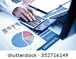 businessman analyzing...   Shutterstock . vector #352716149