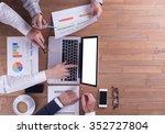 business concept  teamwork | Shutterstock . vector #352727804