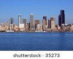 seattle skyline | Shutterstock . vector #35273