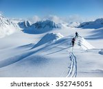 high altitude view of two... | Shutterstock . vector #352745051