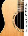 black guitar scene | Shutterstock . vector #352752164