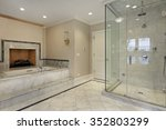 master bath in new construction ... | Shutterstock . vector #352803299