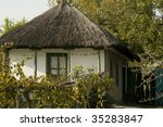 old house in danube delta | Shutterstock . vector #35283847