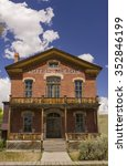 bannack  montana  usa   august... | Shutterstock . vector #352846199
