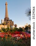 Stock photo eifel tower at las vegas 3529066