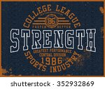 college t shirt graphic