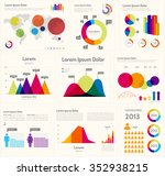 infographic layout   ... | Shutterstock .eps vector #352938215