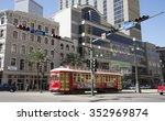 public transport in the city... | Shutterstock . vector #352969874