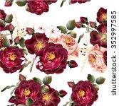 beautiful seamless wallpaper...   Shutterstock .eps vector #352997585